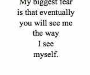 fear, depression, and quote image