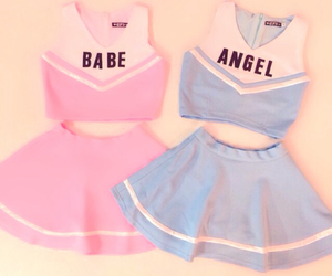 pink, angel, and babe image