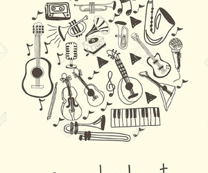 harmony, instruments, and melody image