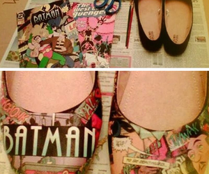 batman, comic, and diy image