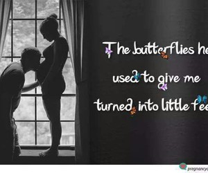 pregnant, little feet, and love image