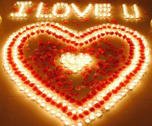 love, romantic, and heart image