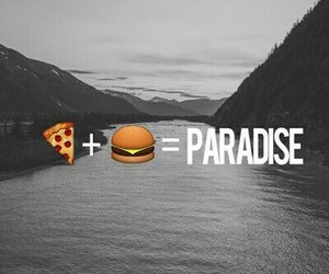 paradise, pizza, and food image