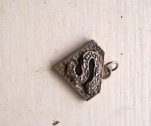 pendant, silver, and sterling image