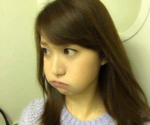 jpop, funny, and oshima yuko image