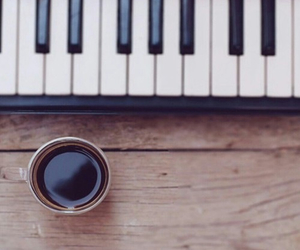 black, classic, and coffee image
