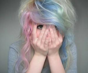 alternative, blonde, and blue image