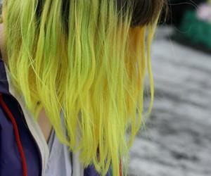 hair and yellow image