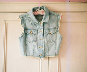 fashion, jeans, and vest image