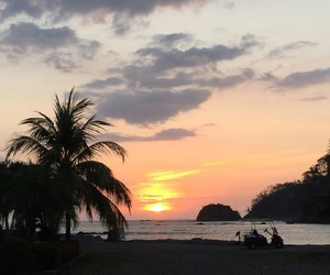 beach, sea, and costa rica image