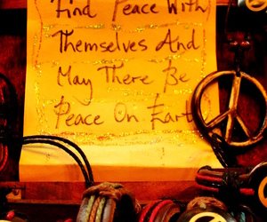 hippie, lifestyle, and peace image