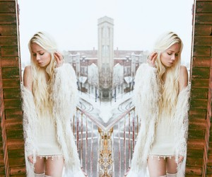 boho, white, and blonde image