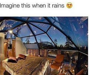 rain, amazing, and imagine image