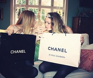 chanel, girl, and friends image