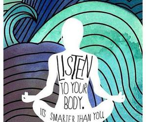 body, listen, and yoga image