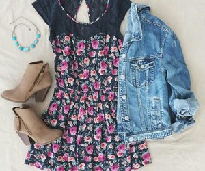 outfit, dress, and fashion image