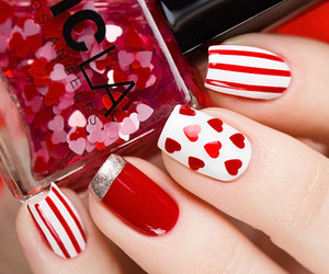 lovely, nails, and sweet image