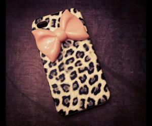 case, bow, and leopard image