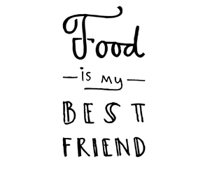 best friend, edit, and food image