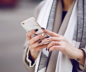 fashion, iphone, and nails image