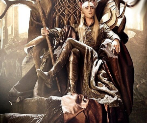 thranduil, the hobbit, and elf image