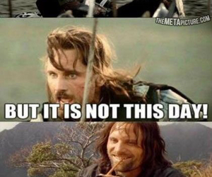 LOTR, aragorn, and lord of the rings image