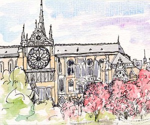paris and sketch image