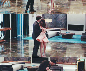 christian grey, fifty shades of grey, and dance image