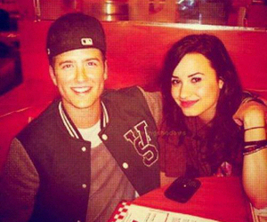 demi lovato, big time rush, and logan henderson image