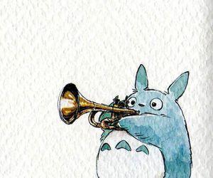 totoro, anime, and ghibli image