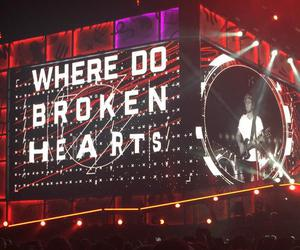 one direction, niall horan, and where do broken hearts go image