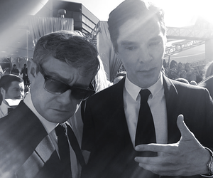 benedict cumberbatch and Martin Freeman image
