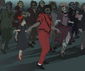 thriller and michael jackson image