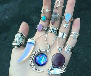 grunge, style, and jewelry image