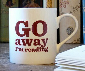 book, reading, and cup image
