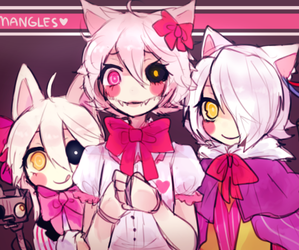 five nights at freddy's, fnaf, and mangle image