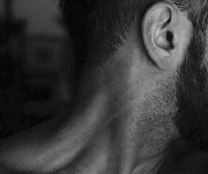 man, beard, and neck image