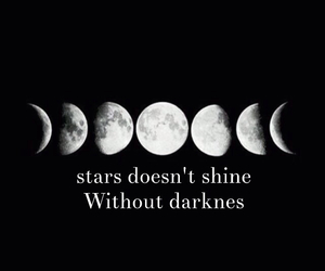 Darkness, quote, and shine image