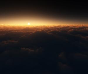 amazing, light, and sky image