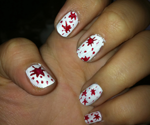 inspiration, red, and nails image