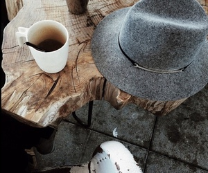 coffee and hat image