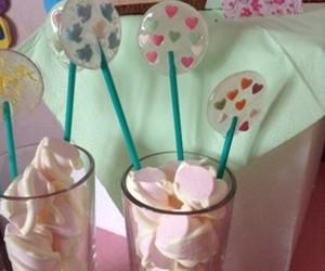 marshmallow and lolipops party image