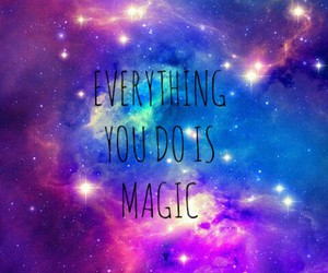 magic, galaxy, and one direction image