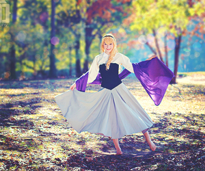 aurora, Briar Rose, and cosplay image