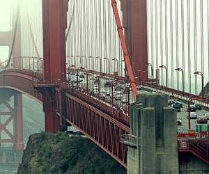golden gate bridge, photography, and san francisco image