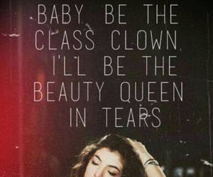 lorde, tennis court, and Lyrics image