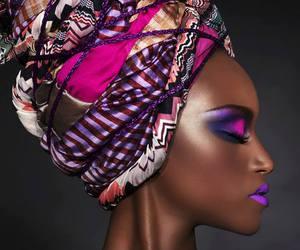 make up and model image