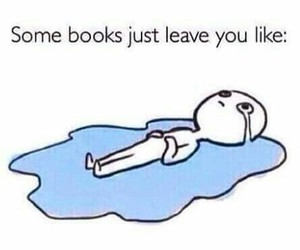 books, cry, and OMG image