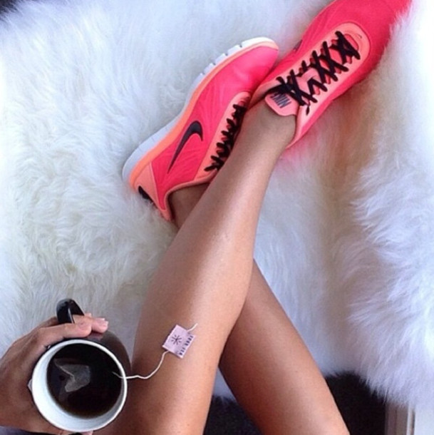 legs, nike, and pink image