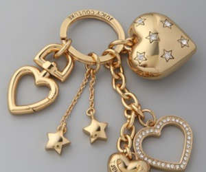 beautiful, gold, and keychain image